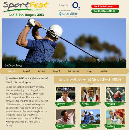 SportFest website