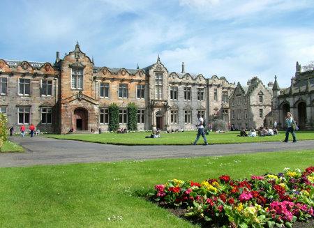 St Andrew University-St Salvator's Quad