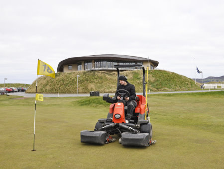 The Jacobsen Eclipse at St Anne's Golf Club has contributed to a change in the greens management regime