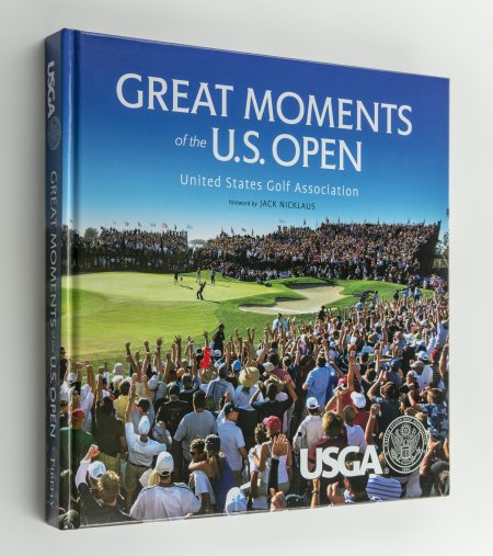 US Open Book Cover