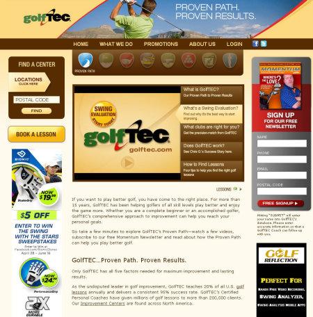 golftec website