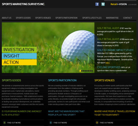 sports marketing website