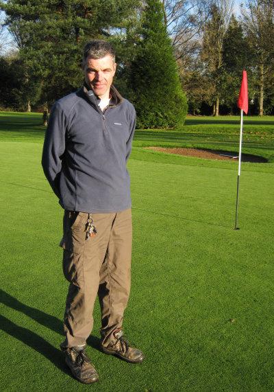 Dan Harden at Cardiff Golf Club