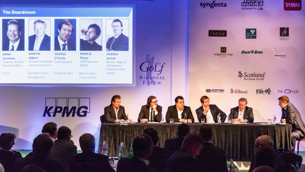 Business leaders from the world of golf debate the key issues facing the game at the Golf Business Forum.