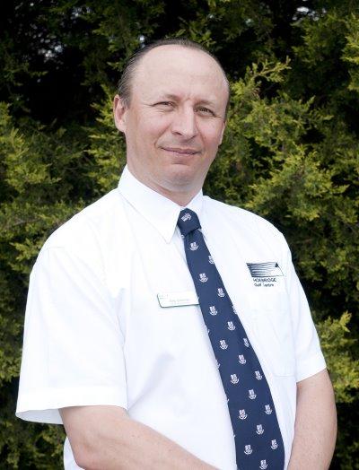 Hoebridge Golf Centre's senior club manager, Mike O'Connell CCM