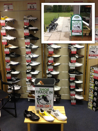 Shoe Trade-in 2013 photo
