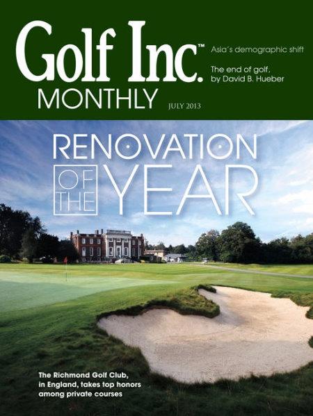 TPL at Richmond Golf Inc cover