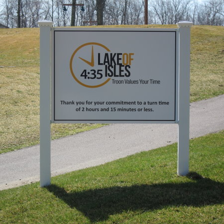 TVYT - Course Signage - Lake of Isles 2