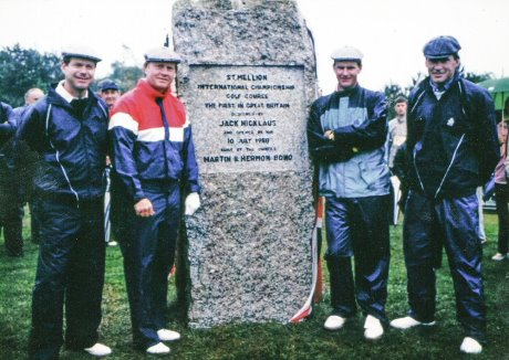 Tom Watspn, Jack Nicklaus, Sandy Lyle and Nick Faldo at St Mellion in 1988