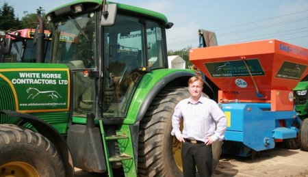 Gary Kneller, the new Managing Director of White Horse Contractors