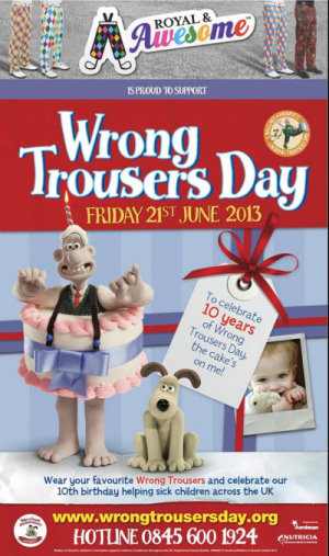 Wrong Trousers poster