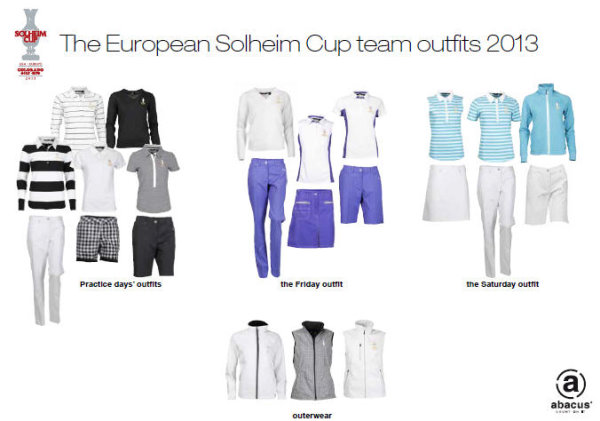 abacus Solheim Cup outfits