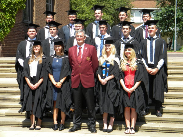 PGA Captain Neil Selwyn-Smith and 2013 AGMS graduates