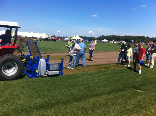Campey demonstrate The Koro FTM at TPI event in Chicago July 2013