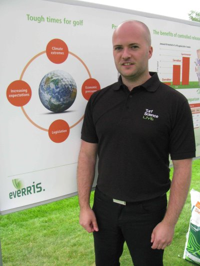 Jamie Lees, Technical Area Sales Manager – Scotland, Everris