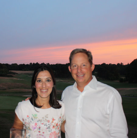 Ana Rodríguez, Las Colinas Golf & Country Club & Bruce Glasco, Senior Vice-President and Managing Director, Troon International Operations