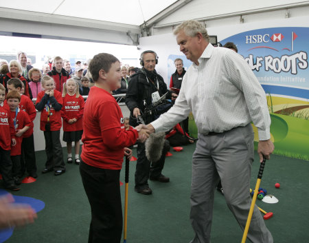 Golf Foundation President, Colin Montgomerie