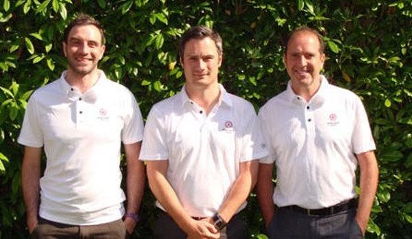 (from left): Jamie Blair, Ashley Rump and Sean Hammill