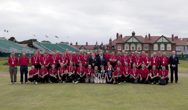The Open 2012 Team Photo