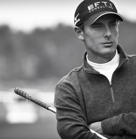 Charles Howell III wearing the Dunning layering pieces