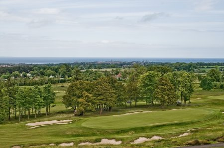 Duke's Course overlooking St Andrews
