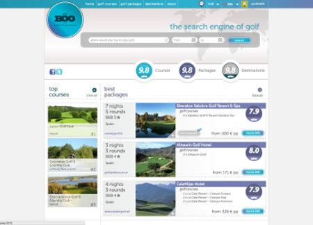 GolfBoo Homepage