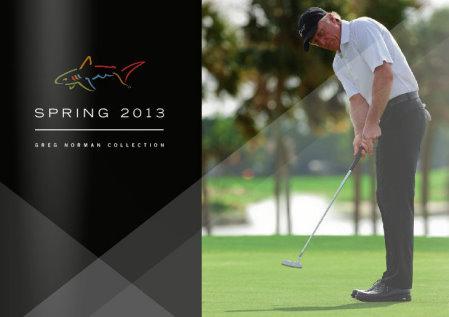 Greg Norman Collection Spring 2013 catalogue