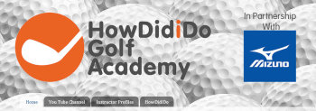 HowDidiDo Golf Academy website