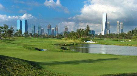 Jack Nicklaus Club, Korea, 7th green