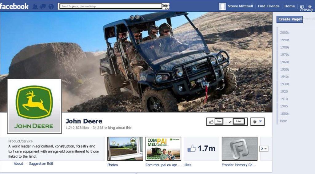 John Deere Facebook