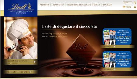 Lindt Italia website