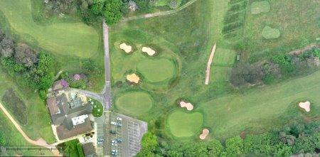 Drone's view of East Berks GC