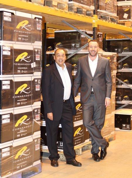 PowaKaddy owners John deGraft-Johnson (left) and David Catford