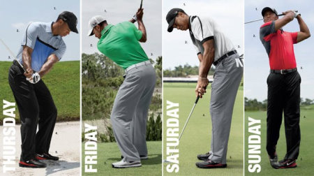 What Tiger Woods is wearing at 2013 PGA Championship