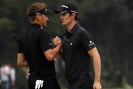 Ian Poulter (left) and Justin Rose