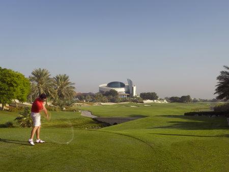 Al Badia Golf Club 9th Hole