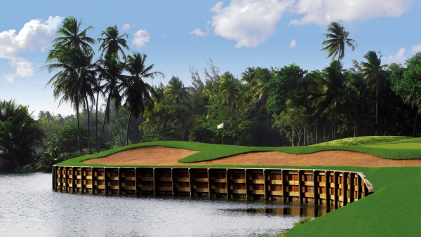 Bahia Beach Golf Hole #8