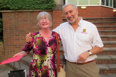 Diane with Stephen Bernhard