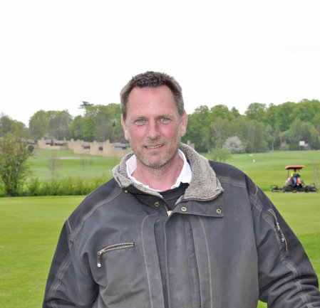 Fredensborg Golf Club's course manager, Per Christensen