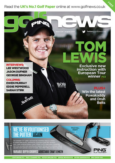Golf News August 2013 issue cover