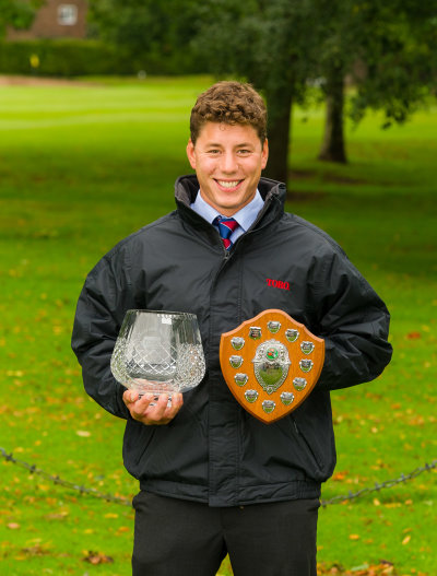 Luke Turner, Toro Student Greenkeeper of the Year 2013