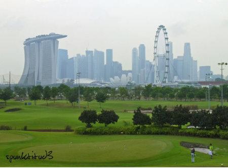 Singapore's only public Golf Course - Marina Bay Golf Course: