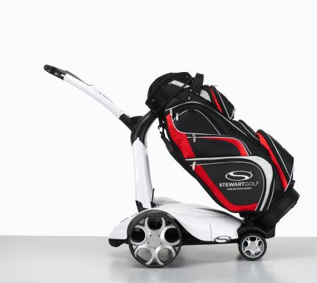 Stewart X7 white with C3 bag