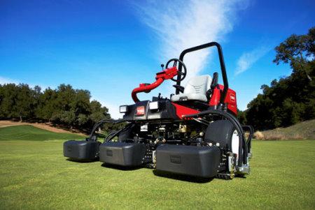 The new Toro Reelmaster 3550-D is the lightest fairway mower on the market
