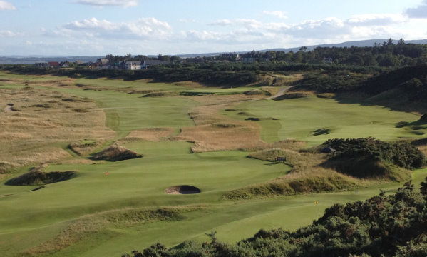 This view from the 7th tee at Royal Dornoch is among the entries in the BSH 'My Course Photo Competition'