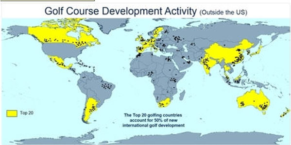 Golf Course Development outside the US