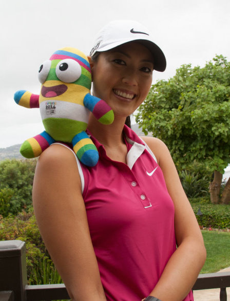 Michelle Wie Youth Olympic Games 2014 Ambassador