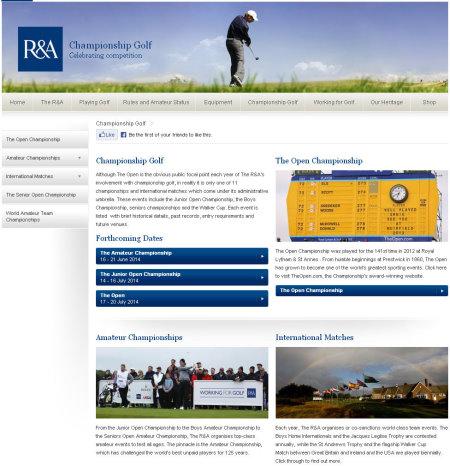 RandA Championships website