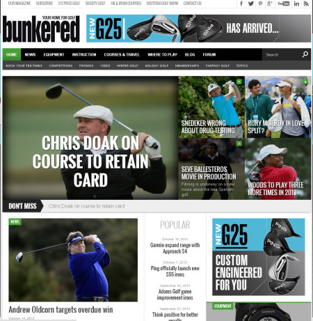 bunkered website
