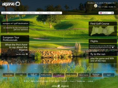 Algarve Golf website
